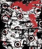 Stedelijke Grunge ploetert royalty-vrije illustratie