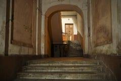 Stedelijke huisingang Royalty-vrije Stock Foto