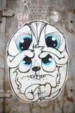 Stedelijke kunst - hond Stock Afbeelding