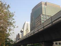 Stedelijke moderne gebouwen in CBD Stock Afbeeldingen