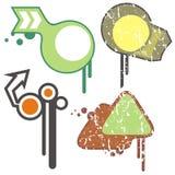 Stedelijke ontwerpelementen vector illustratie