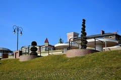 Stedelijke promenade Royalty-vrije Stock Fotografie