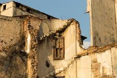 Stedelijke ruïnes in Istanboel, Turkije Stock Fotografie