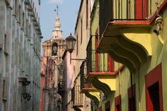 Stedelijke scène in Guadalajara Stock Foto's