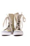 Stedelijke schoenen stock fotografie