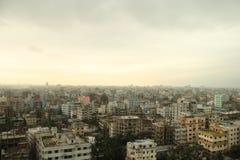 Stedelijke scène van Dhaka Stock Foto's