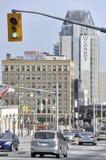 Stedelijke stad scape Royalty-vrije Stock Fotografie