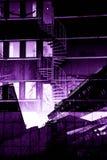 Stedelijke stadsachtergronden Stock Foto