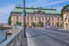 Stedelijke stadsmening, straat, volkeren en gebouwen Reisfoto 201 royalty-vrije stock foto's