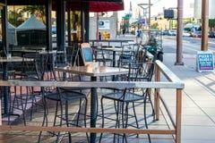 Stedelijke streetscapes en gebouwen in Phoenix van de binnenstad, AZ Royalty-vrije Stock Foto