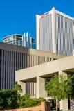Stedelijke streetscapes en gebouwen in Phoenix van de binnenstad, AZ Stock Afbeelding