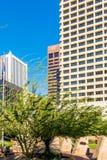 Stedelijke streetscapes en gebouwen in Phoenix van de binnenstad, AZ Royalty-vrije Stock Afbeeldingen