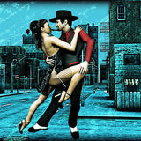 Stedelijke Tango Stock Afbeeldingen