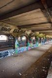 Stedelijke tunnel royalty-vrije stock afbeeldingen
