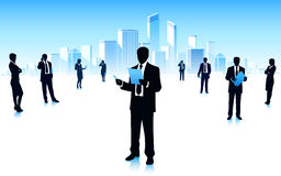 Stedelijke zakenlieden Stock Afbeelding