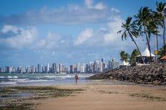 Steden van Brazilië - Recife Stock Afbeeldingen
