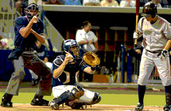 SteeeRike, Graphic Image. Umpire Calling Batter Out On Strikes, Graphic Stock Photography