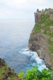 Steef cliff at Uluwatu Stock Image