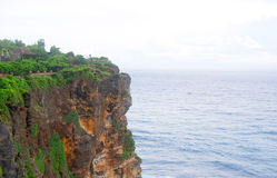 Steef cliff at Uluwatu Royalty Free Stock Images