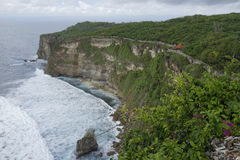 Steef cliff at Uluwatu, Bali Stock Photography