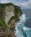 Steef cliff at Uluwatu, Bali Royalty Free Stock Images