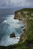 Steef cliff at Uluwatu, Bali Stock Images