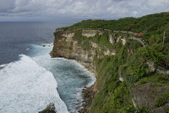 Steef cliff at Uluwatu, Bali Royalty Free Stock Photography