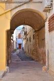 Steeg. Manduria. Puglia. Italië. stock afbeelding