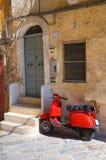 Steeg. Monopoli. Puglia. Italië. Royalty-vrije Stock Fotografie