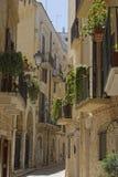 Steeg Puglia Royalty-vrije Stock Afbeelding