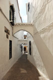 Steeg schilderachtig van Cabra, provincie van Cordoba, Spanje Stock Foto's