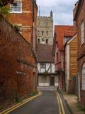 Steeg in Tewkesbury royalty-vrije stock fotografie