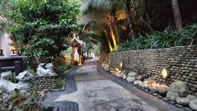 Steeg in Vietnam stock afbeeldingen