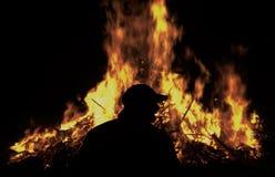 Steek mijn brand aan Stock Foto's