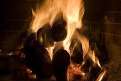 Steek plaats in brand Stock Foto's