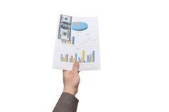 Steekpenningsconcept Stock Afbeeldingen