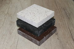 Steekproef acryl kunstmatige steen Royalty-vrije Stock Fotografie