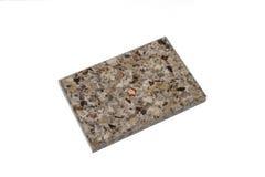 Steekproef acryl kunstmatige steen Stock Foto's