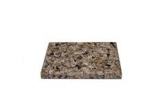 Steekproef acryl kunstmatige steen Royalty-vrije Stock Foto's