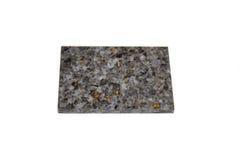 Steekproef acryl kunstmatige steen Royalty-vrije Stock Afbeeldingen