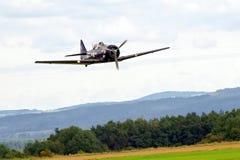 Steekproefvliegtuigen airshow Royalty-vrije Stock Afbeelding