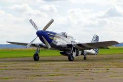 Steekproefvliegtuigen airshow Royalty-vrije Stock Foto's