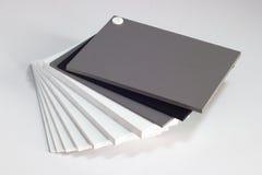 Steekproeven van de materialen Royalty-vrije Stock Afbeelding