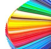 Steekproeven van kleur stock foto's