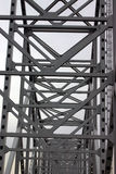 Steel. Construction of Bay Bridge in Maryland royalty free stock photo