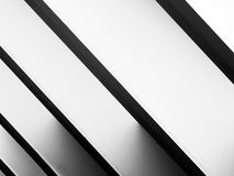Steel abstraction in bridge Stock Photography