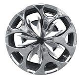 Steel alloy car rim Royalty Free Stock Image