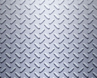 Steel alloy diamond plate Stock Photography