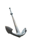 Steel Anchor isolated on white with clipping path Royalty Free Stock Photo