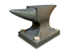 Steel Anvil Perspective Royalty Free Stock Photos